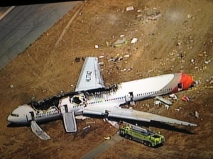 SFO flight 214 Crash, injury lawyer SF Eric Abramson